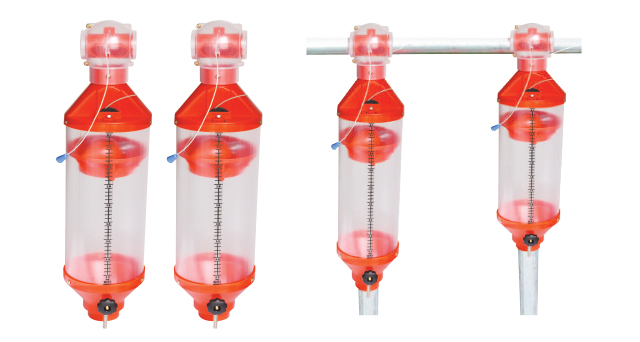 Measurable Feeders (5L/9L/13L) That Can Be Opened and Closed