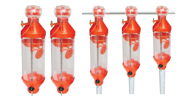 Conical 5-Liter/9-Liter Measurable Feeders
