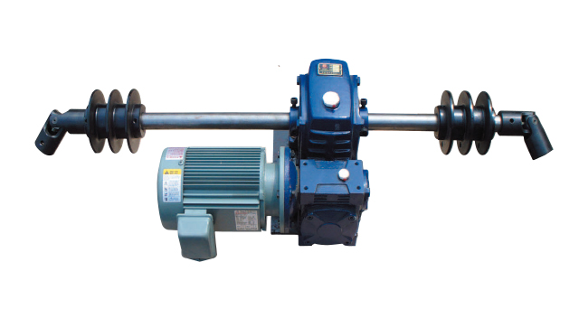 Driving Part of Drum-Type Wire Rope Winch